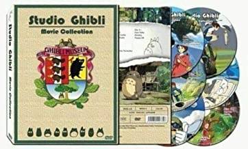 Hayao Miyazaki & Studio Ghibli Deluxe 17 Best Movie Collection (6 Discs)