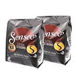 Senseo Coffee Pods Extra Strong Coffee/Extra Strong Intense and Full Bodied 8oz for Kaffepadmaschinen 72Pads