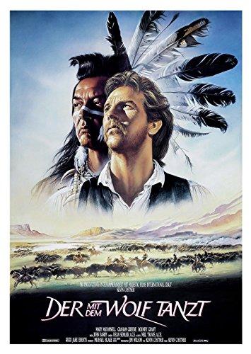 Der mit dem Wolf Tanzt (1990) | original Filmplakat, Poster [Din A1, 59 x 84 cm]
