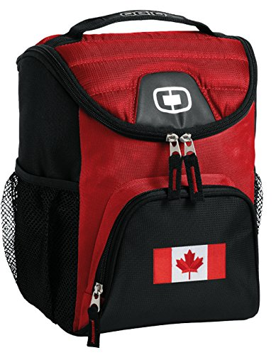 Canada Lunch Bag Insulated Soft Cooler Canadian Flag Best Size Lunchbox