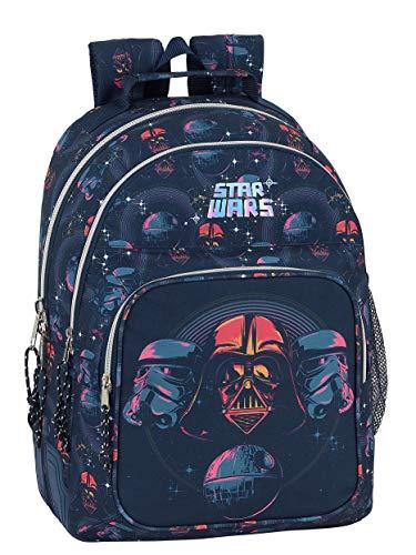 Mochila Safta Escolar de Star Wars  320x150x420mm