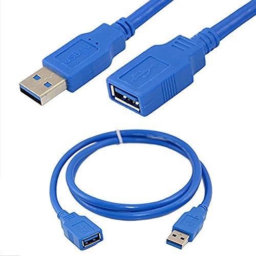 Dandeliondeme USB-3.0-A-Stecker auf Buchse, sehr schnell, für Mobiltelefone, Tragbare Festplatte, Tablet, PC
