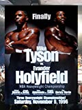 CLASSIC POSTERS Mike Tyson vs Evander Holyfield
