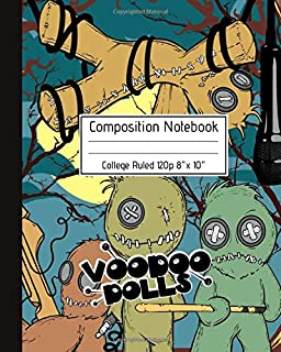 Composition Notebook College Ruled 120p 8