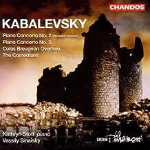 Kabalevsky: Piano Concertos Nos. 2 & 3 / Colas Breugnon Overture / The Comedians