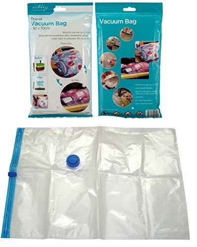 Ashley - Bolsas para envasado al vacío (50 x 70 cm, para Ropa de Cama)