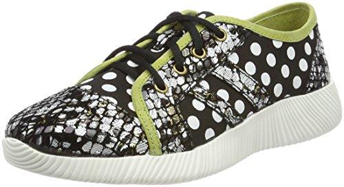 Laura Vita Damen Delphine 11 Sneaker, Schwarz (Noir), 38 EU