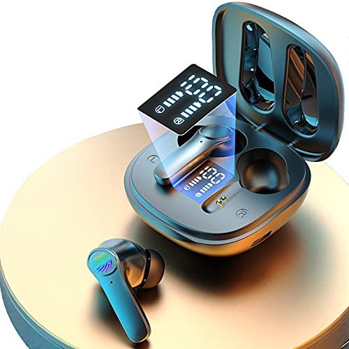 Bluetooth イヤホン 高音質 両耳 左右分離型 (ブラック)