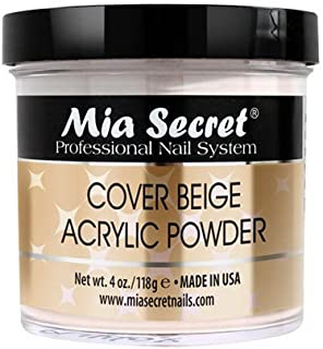 Mia Secret COVER BEIGE ACRYLIC POWDER 4oz