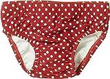 Playshoes Baby - Mädchen Schwimmbekleidung mit UV-Schutz nach Standard 801 und Oeko-Tex Standard 100 , gepunktet 461040 100, Gr. 86/92, Rot (8 rot)