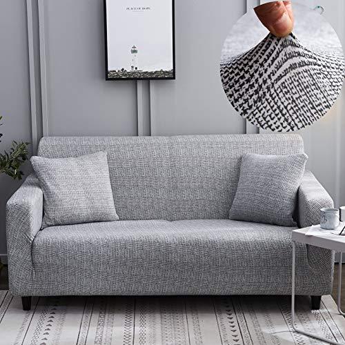 Funda de sofá elástica elástica con Estampado Floral, Toalla de sofá de algodón, Fundas de sofá Antideslizantes para Sala de Estar A17, 1 Plaza