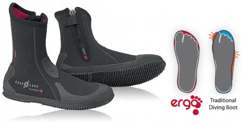 Aqua Lung 6.5mm Men's Superzip Ergo Boot