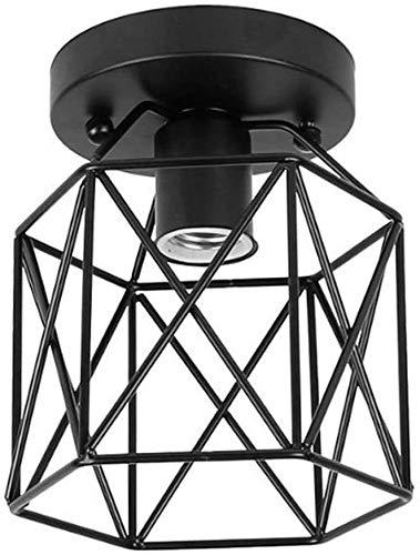 Hainice Estilo Industrial Light Techo LED luz de Techo de 200 mm...