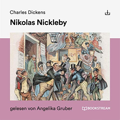Nikolas Nickleby cover art