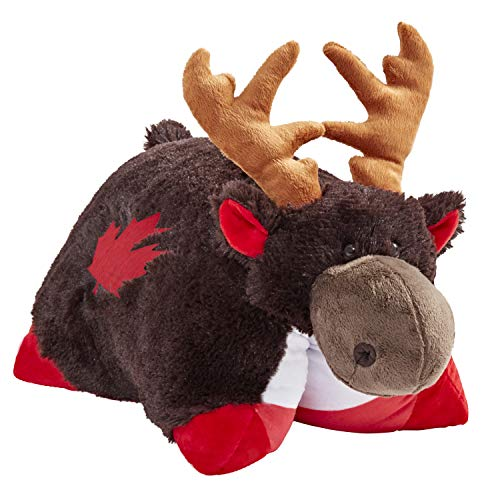 Pillow Pets Canadian Moose Stuffed Animal Plush Toy
