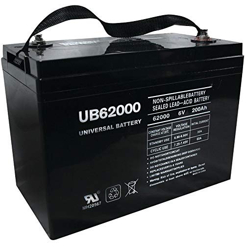 Universal Power Group UB62000 6V 200AH Battery for Champion M83CHP06V27...