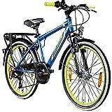 Galano Adrenalin 24 Zoll Mountainbike Jugendfahrrad MTB Hardtail Fahrrad ab 140 cm/11 Jahre...