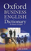 Scaricare Libri Oxford Business English Dictionary for learners of English: Oxford business english dictionary. Con CD-ROM PDF