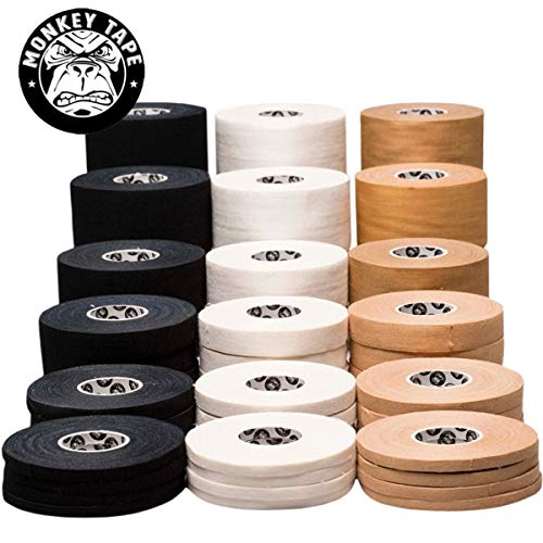 Monkey Tape - 4 Rolls of 0.2 inch Tape, 15 Yards in...