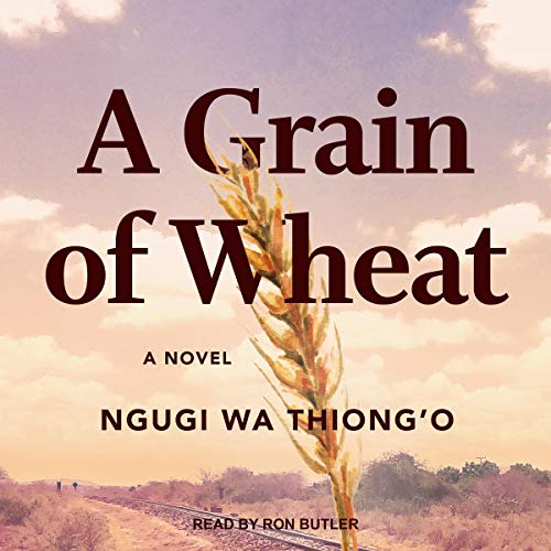 A Grain of Wheat audiobook cover art