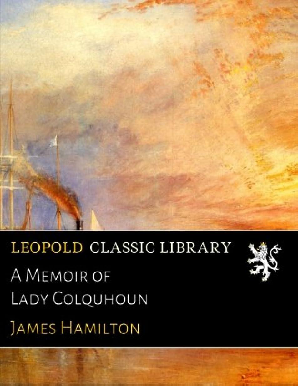 差別溶岩シャットA Memoir of Lady Colquhoun