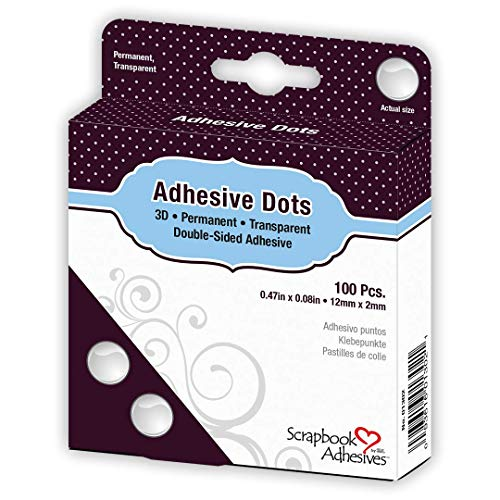 Scrapbook Adhesives BY 3L Adhesive Dots 3D, 11568