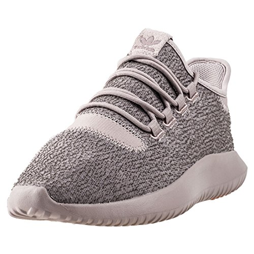 adidas Men's Tubular Shadow Gymnastics Shoes, Silver (Vapour Grey F16/raw Pink F15), 8 UK