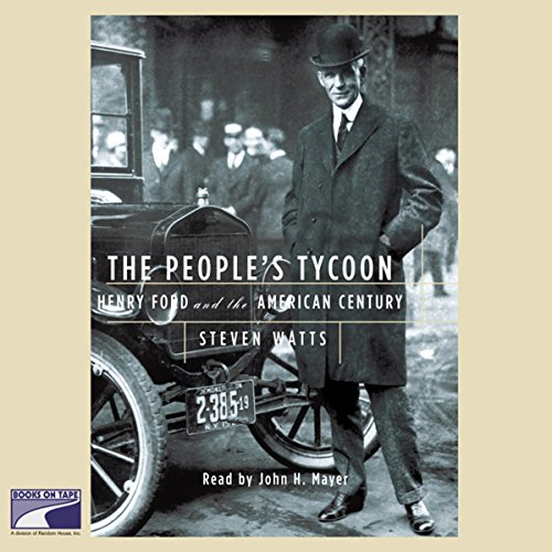 The People's Tycoon audiobook cover art
