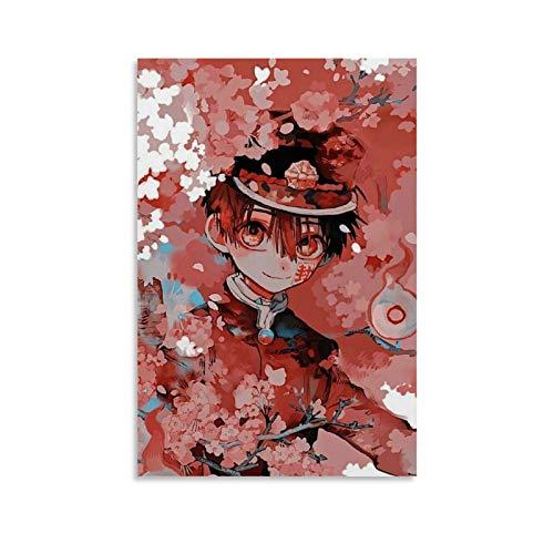 DHGHJ Jibaku Shounen Hanako Kun Anime Poster Decorative Painting Canvas Wall Art Living Room Posters Bedroom Painting 08x12inch(20x30cm)
