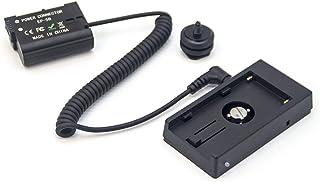 FOTGA Kabel adaptera sieciowego do NP-F NP-F970 NP-F960 płyta baterii z EN-EL15 EN-EL15a bateria do zasilania Nikon D610 D...