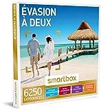 SMARTBOX - Coffret Cadeau couple - Évasion à deux - idée cadeau - 6250 expériences : 1 séjour ou 1 activité romantique pour 2