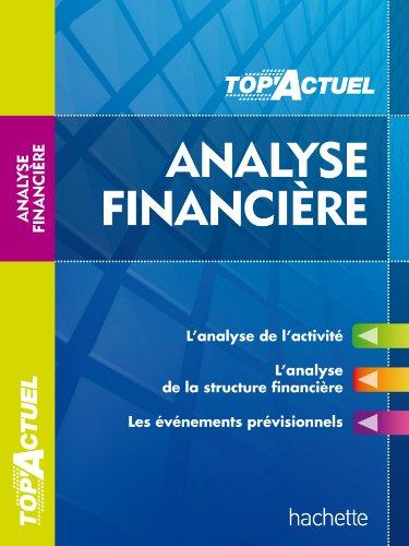 TOP'Actuel - Analyse financière 2013/2014