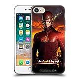 Head Case Designs Officiel The Flash TV Series Barry Debout Pose Poster Coque en Gel Doux Compatible avec iPhone 7 / iPhone 8
