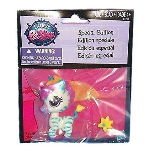 Littlest Pet Shop Special Edition Zinnia Gardner Zebra #3846
