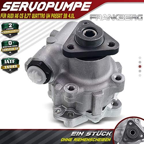 Servopumpe ohne Riemenscheiben für A6 4B 4B2 C5 A6 Avant 4B C5 P-a-s-s-a-t 3B3 P-a-s-s-a-t Variant 3B6 2.7L V6 4.0L W8 4-m-o-t-i-o-n 1997-2005 4B0145156A