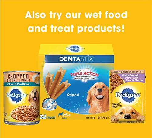 Pedigree Complete Nutrition Adult Dry Dog Food Roasted Chicken, Rice & Vegetable Flavor, 30 Lb. Bag