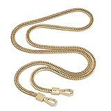 Cadena para bolso – DIY oro correa de bolsillo 6 mm repuesto monedero cadena cadena bandolera pequeña bolso monedero cadena
