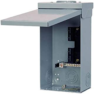 Siemens W0408ML1125U Load Center, Gray