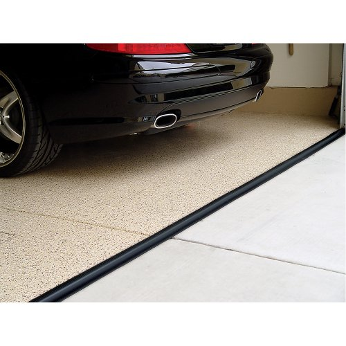 Tsunami Seal 53010 Lifetime Garage Door Threshold Seal Kit - 10 Foot, Black (Various Sizes Available)