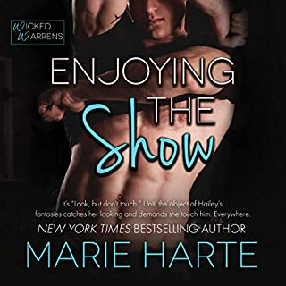 Enjoying the Show                   Written by:                                                                                                                                 Marie Harte                               Narrated by:                                                                                                                                 Emma Wilder                      Length: 2 hrs and 44 mins     Not rated yet     Overall 0.0