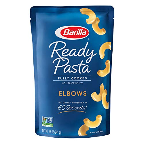 6-Pack 8.5-Oz Barilla Ready Pasta (Elbows, Gemelli or Rotini) $5.70 w/ S&S + Free Shipping w/ Prime or on orders over $25
