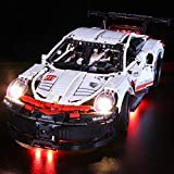 FenglinTech LED Light Kit for Lego Technic Porsche 911 RSR 42096 Building Kit (Lego Set Not Included, 3rd Party Lego Accessory)