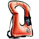 Rrtizan Adulte Unisexe Portable Gonflable Tuba Gilet pour la plongée en Toute sécurité…