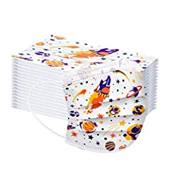 The size: Free size suitable for Kids. FAST DELIVERY Breathable material and cute patterns, which makes it useful and fashionable.3 ply non-woven material, it is healthy and safe for you to Kids useful These Face Cover Ideal to protect your kids' mou...