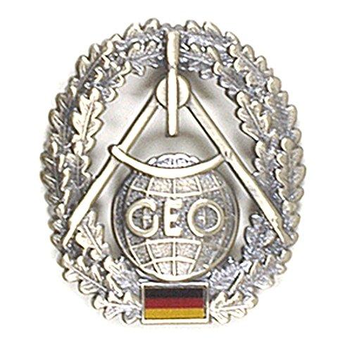 BW Barettabzeichen Bundeswehr, verschiedene Truppengattungen Einheitsgröße,Topographie