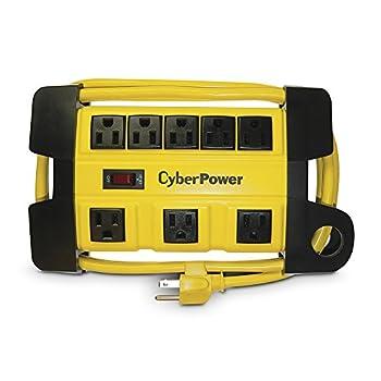 CyberPower DS806MYL Heavy Duty Power Strip 8-Outlets 6-Foot Cord