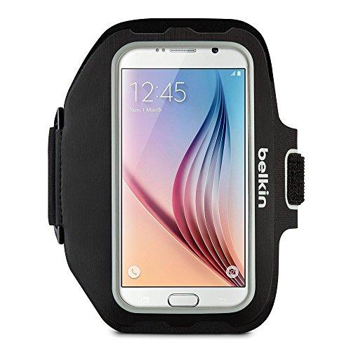 Belkin Sport-Fit Plus - Brazalete Deportivo para Samsung Galaxy S7, Color Negro
