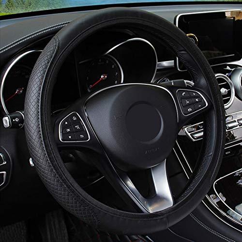 YXSMFX Leder Lenkradabdeckung Auto Styling.Für Ford Ranger C Max S Max Fokus Galaxy Mondeo Transit Tourneo...