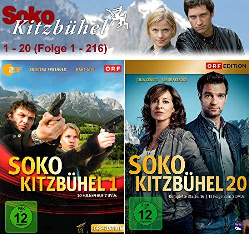 SOKO Kitzbühel - Box 1-20 (45 DVDs)