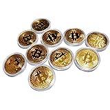 ビットコイン 仮想通貨 レプリカ Bitcoin replica (ビットコイン(金)10枚セット)